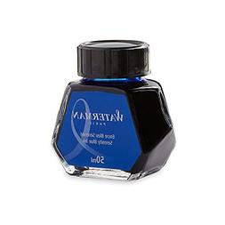 Waterman 1.7 oz Ink Bottle for Fountain Pens, Serenity Blue